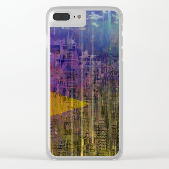 End of Year / Urban 29-12-16 Clear iPhone Case