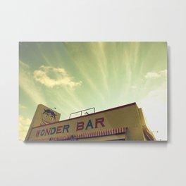 Wonder Bar Metal Print