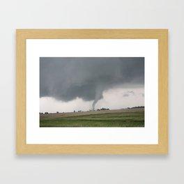 Field Tornado  Framed Art Print