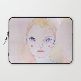 Mia Farrow Laptop Sleeve