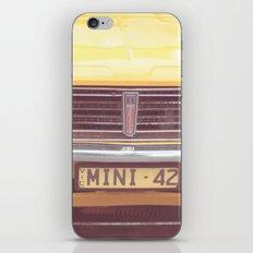 Yellow Mini iPhone & iPod Skin