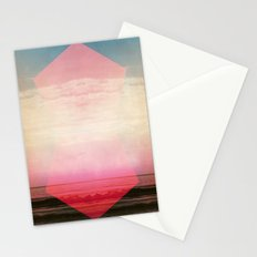 Were not our hearts burning within us? Stationery Cards