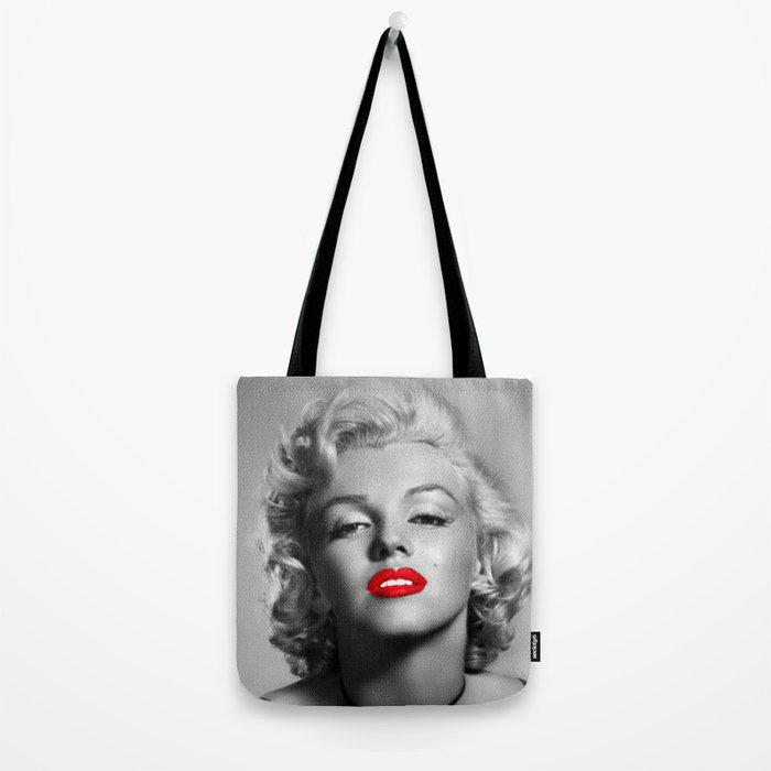 A female mouth - Marylin M. Tote Bag