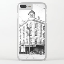 Chess, Checker, and Whist Club, New Orleans 1903 Clear iPhone Case