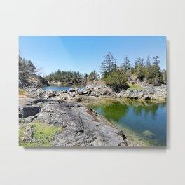 Wonderland - Smuggler Cove Sunshine Coast BC Canada Metal Print