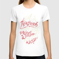 paper towns T-shirts featuring Paper Towns- Treacherous by deducktion