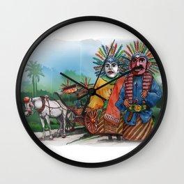 Ondel-ndel Wall Clock