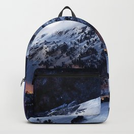 Mountain CALM IN space view Backpack