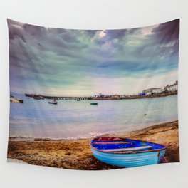 The calm before a storm. Wall Tapestry