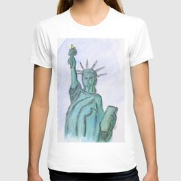 The Queen Of Liberty T-shirt