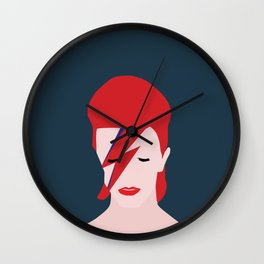 Bowie no.2 Wall Clock