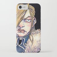 louis armstrong iPhone & iPod Cases featuring Armstrong by Naïs Quin