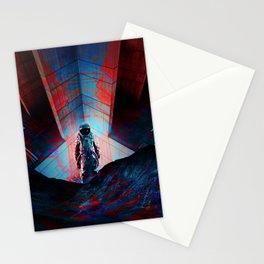 See you soon Space Cowboy Stationery Cards
