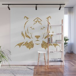 Golden Tiger Prince Wall Mural