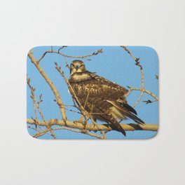 Redtail Hawk Bath Mat