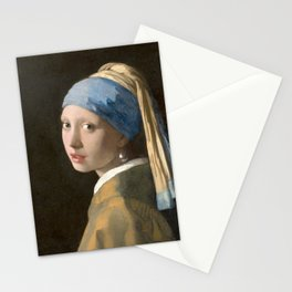 Girl with a Pearl Earring (1665), Old Masters Collection Stationery Cards