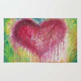 Heart Therapy - 'Tracey's Heart' Rug