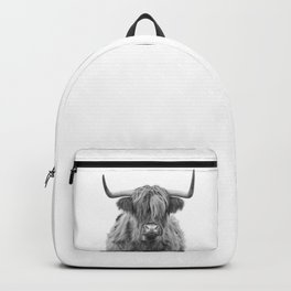 Gentle giant of Scotland Backpack