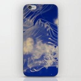 Drifting moon jellies iPhone Skin