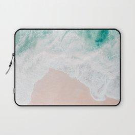 Ocean Mint Walk Laptop Sleeve