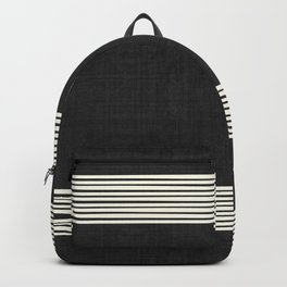 Band in Black and White Backpack