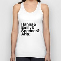 pretty little liars Tank Tops featuring Pretty Little Liars by MLauxDesign