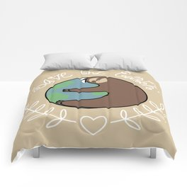 Save The Earth Sloth Comforters