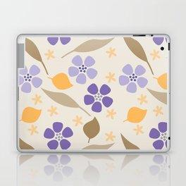 Abstract Violets Laptop & iPad Skin