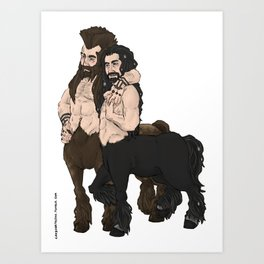 centaurs Art Print