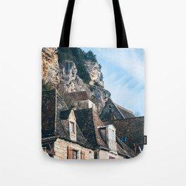Homes of La Roque-Gageac Tote Bag