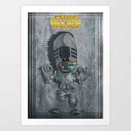 ShoeWars : Han Solo Art Print