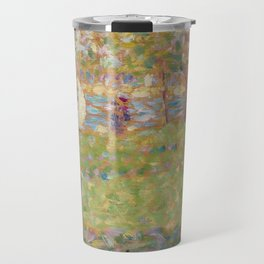 "Study for ""La Grande Jatte"" Travel Mug"