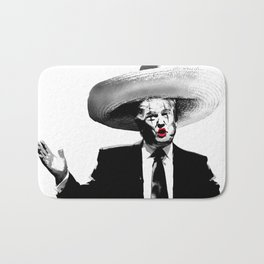 Sad Clown (Donald Trump) Bath Mat