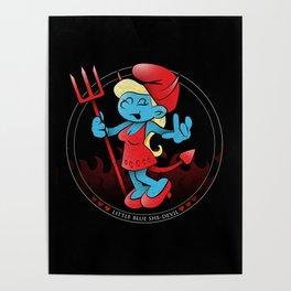 The Little Blue She-Devil Poster