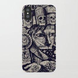 Mictecacihuatl 2 iPhone Case