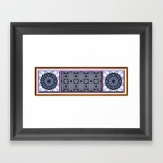 Wild Blueberries Framed Art Print