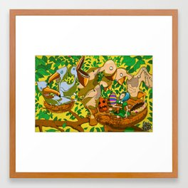 nesttrouble Framed Art Print