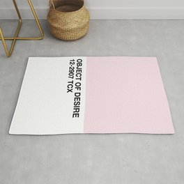 object of desire Rug