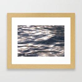 Early Morning Water (Detail) Framed Art Print