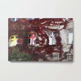 Fassade Metal Print