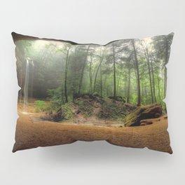 Ash Cave At Hocking Hills State Park Logan Ohio Ultra HD Pillow Sham