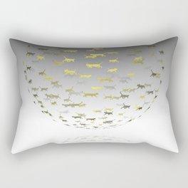 Catspace Rectangular Pillow