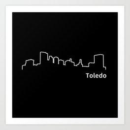 Toledo, Ohio Art Print