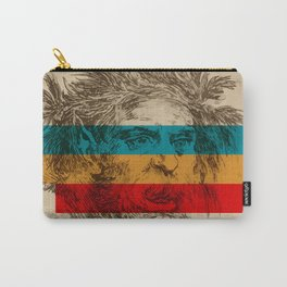 Old Satyre and suprematism Carry-All Pouch