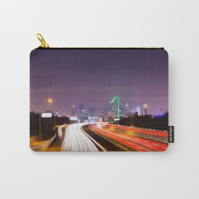 The Road to Dallas Carry-All Pouch