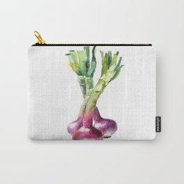 SPRING ONION PAINTING Carry-All Pouch