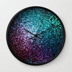 Colorful Mosaic Reflection Wall Clock