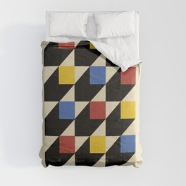 Bauhaus old remastered high resolution poster Comforters