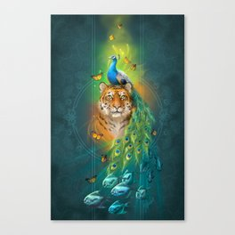 India Inspired Canvas Print