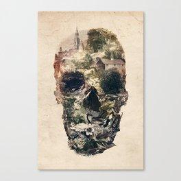 Skull Town Canvas Print